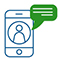 Иконка мобильный телефон