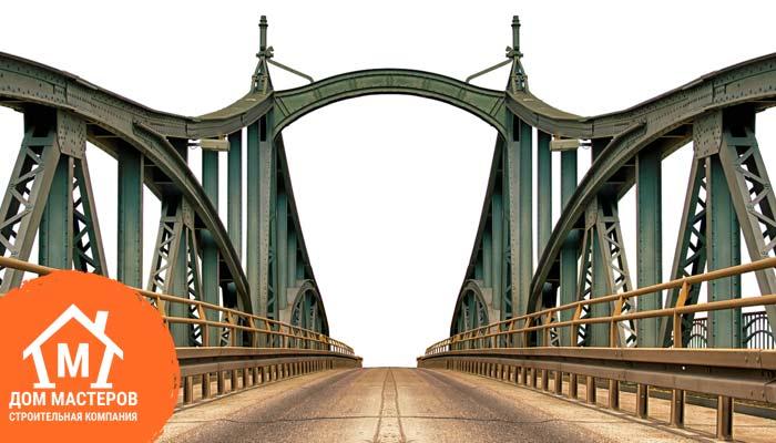 Металлический каркасный мост