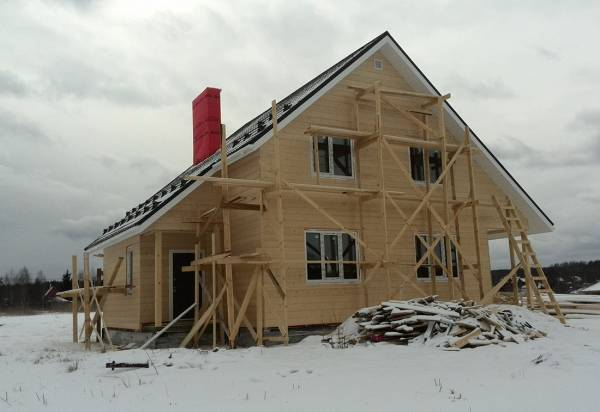 Основные строительные работы выполнены