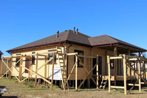 Первый этап строительства завершен.