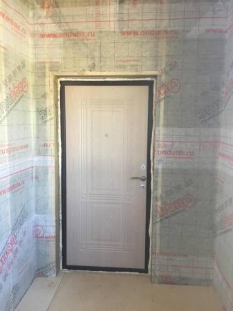Входная дверь вид изнутри.