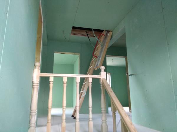 Доступ на чердак, складная лестница Факро.