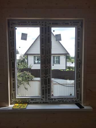 Установлены окна