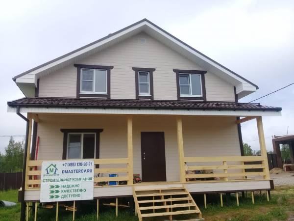 Каркасный дом по проекту Красково