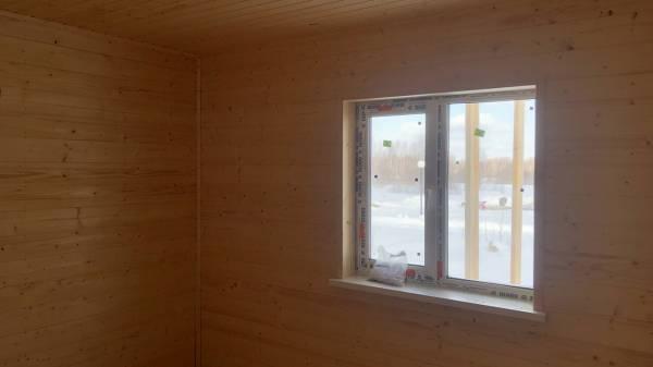 монтаж внутренней чистовой отделки каркасного дома