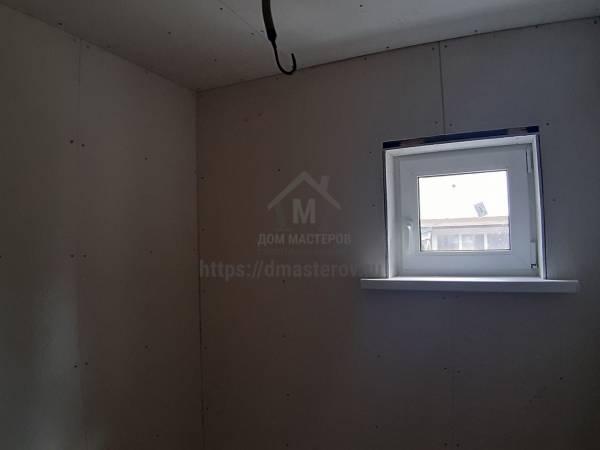 Стены и потолок в санузле