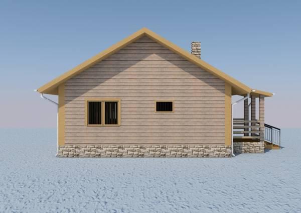 Одноэтажный дом недорого Александров фасад
