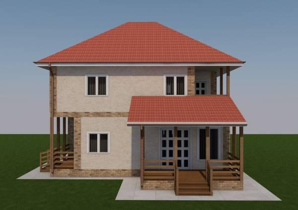 Вид на террасу проекта Ногинск строим в МО