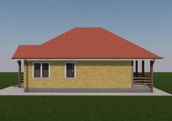 Фотография проекта дачного дома Серпухов от строительной компании в Подмосковье.