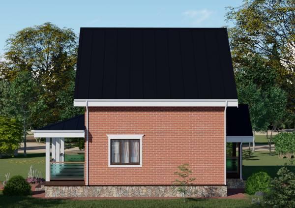 Проект Балашиха дом 7 на 8 метров