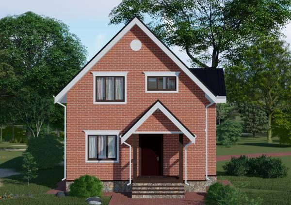 Картинка проекта Балашиха строительство дачного дома под ключ