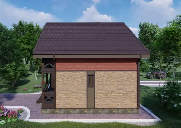 Фото проекта Реутов дачный дом строительство