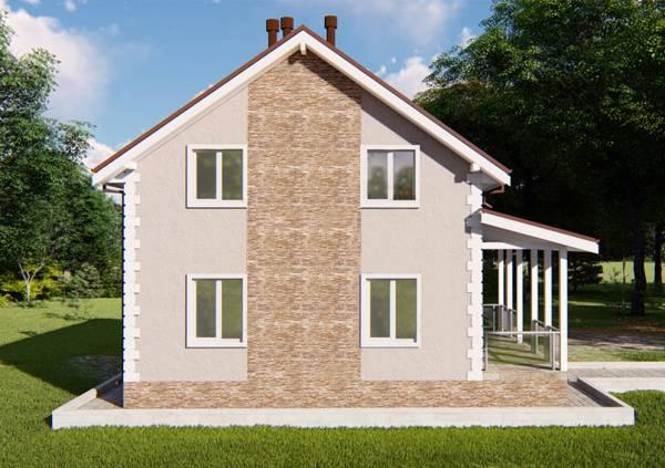 Стена с окнами проекта Верея