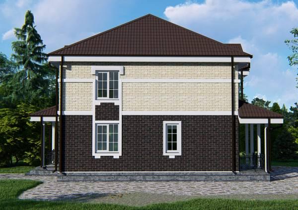 Проект Хотьково коттедж для постоянного проживания