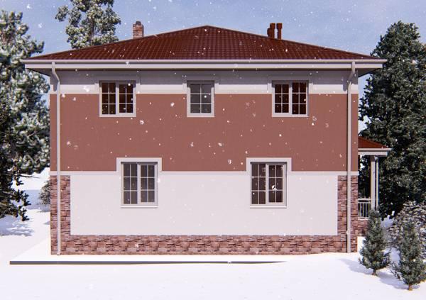 Строительство коттеджа как на фото по проекту Смоленск