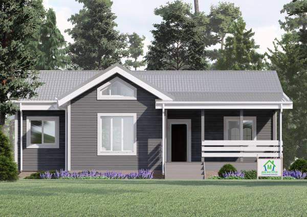Как будет выглядеть одноэтажный дачный дом Львовский