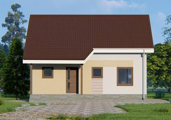 Типовой проект дачного дома Бортниково.