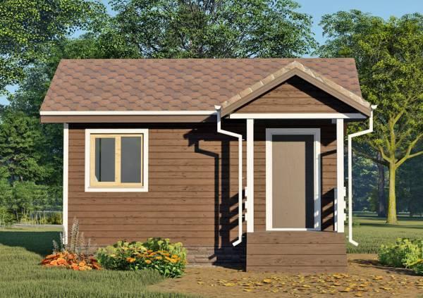 Крыльцо для маленького дома одноэтажного 4х6